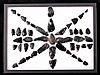 Shoshone Basin Idaho Obsidian Arrowhead Collection