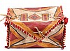 Northern Plains Parfleche Box The lot features a p