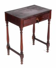 Library Table circa 1890 This is a hand crafted so