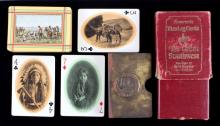 Souvenir Indian Playing Cards by Fred Harvey 1900