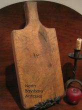 Primitive Folk Art Rock Maple Chopping Board 1840s