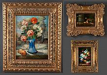 Collection of still life paintings, floral-24