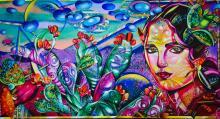 Mixed Media Original Surreal Art