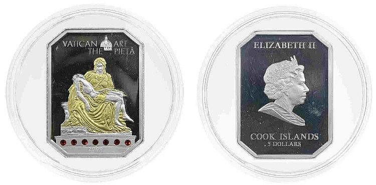 Cook Islands- 5 Dollars 2009