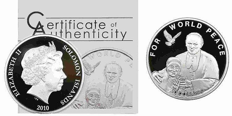 Solomon Islands - 10 Dollars 2010