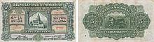 Paper Money - Portuguese India (NOVA GOA) 5 Rupias 1938