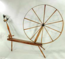 American spinning wheel.