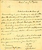 Washington Docketed letter