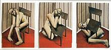 Triptych with Chair by Adam Neate