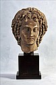 CLASSICAL/HELLENISTIC MARBLE BUST OF ALEXANDER THE GREAT