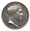 Napoléon 1er Bataille d'austerlitz 11 décembre 1805 BATAILLE D'AUSTERLITz Tête laurée de l'empereur par Andrieu. Dessous, 11 décembre 1805. R/. Bustes laurés et en regard d'Alexandre de Russie et de François d'Autriche. Andrieu F. et Denon D.