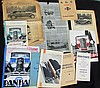 -Illustrations PANHARD & LEVASSOR de 1929 (supplément commercial) - Catalogue 1930, avec documents Omnia - Catalogue 1931 - Catalogue 1932 - Catalogue 1933 (5 exemplaires