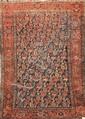 Fin et ancien MELAYER (Perse) à semis de caissons 1ère partie du XXème siècle 195 x 129 cm