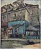 André BOYER (né en 1909) Au Clairon des Chasseurs-Vieux Montmartre Huile sur toile signée en bas à droite 46,5 x 38 cm