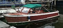 Chris Craft Etats unis Utility 1963 Bois