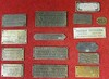 Lot de plaques de carrossiers et constructeurs.