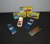 CORGI TOYS : Lot comprenant une Rover 2000 TC ; une Lancia Fulvia Spor Zagato ; une VW 1500 Karman Ghia et une Ford Mustang Fastback