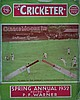 The Cricketer Spring Annual 1932. Size: 29 X 22.5