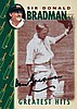 Weet-bix cereal cards Sir Don Bradman Greatest