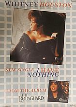 WHITNEY HOUSTON ORIGINAL POSTER I HAVE NOTHING