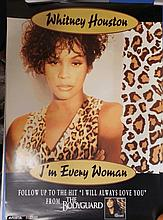 WHITNEY HOUSTON ORIGINAL POSTER I'M EVERY WOMAN