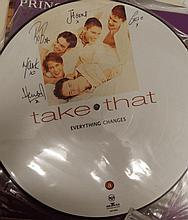 TAKE THAT PICTURE DISC FOR EVERYTHING CHANGES ALBUM