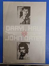 Hall & Oates Original Tour Programme