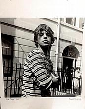 ROLLING STONES MICK JAGGER  ORIGINAL PRINT SIGNED BY PHOTOGRAPHER DAVID WEDGBURY