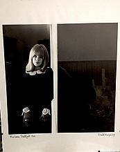 MARIANNE FAITHFULL ORIGINAL PRINT SIGNED BY PHOTOGRAPHER DAVID WEDGBURY