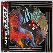 DAVID BOWIE LETS DANCE ALBUM JAPANESE PICTURE DISC