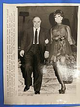 SOPHIA LOREN RARE PRESS PHOTOGRAPH