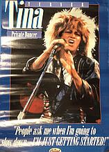 TINA TURNER PRIVATE DANCER POSTER