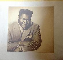 FATS DOMINO ORIGINAL ALBUM ARTWORK
