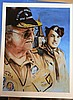 BAND OF BROTHERS CLANCY LYALL RARE SIGNED PRINT USED FOR BOOK COVER