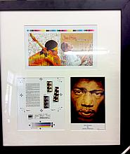JIMI HENDRIX ORIGINAL PROOF FOR THE ALBUM WOODSTOCK