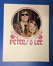 PETERS & LEE TOUR PROGRAMME
