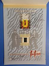 Glass Tiger Original Artwork In Store Display