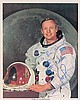 Apollo 11: Neil Armstrong, Buzz Aldrin, Michael Collins autographed photographs, signed
