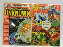 DC Super Size 25 Cent Comic Book Lot Of 2