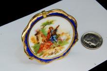 Vintage Handpainted Limoges Rococo Mini-Plate