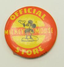 Vintage Kay Kamen Ltd Mickey Mouse Button
