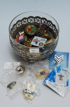 Collection of Mixed Commemorative Pins