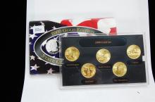 2000 Gold Edition State Quarter US Coin Set