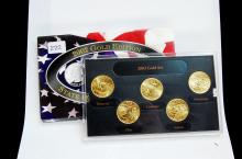 2002 Gold Edition State Quarter US Coin Set