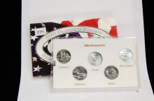 2005 Platinum Edition State Quarter US Coin Set