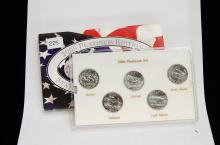 2006 Platinum Edition State Quarter US Coin Set