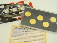2003 Gold Edition State Quarter US Coin Collection