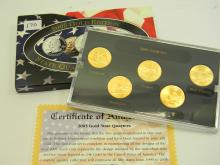 2005 Gold Edition State Quarter US Coin Collection