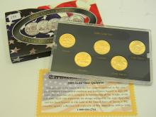 2006 Gold Edition State Quarter US Coin Collection
