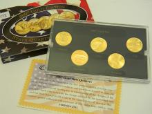 2007 Gold Edition State Quarter US Coin Collection